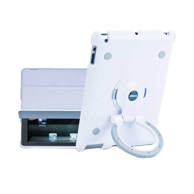 Aidata Putih Abu-Abu Stand Holder for iPad