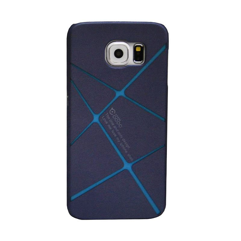 COCOO Back Design C Biru Casing for Samsung Galaxy S6