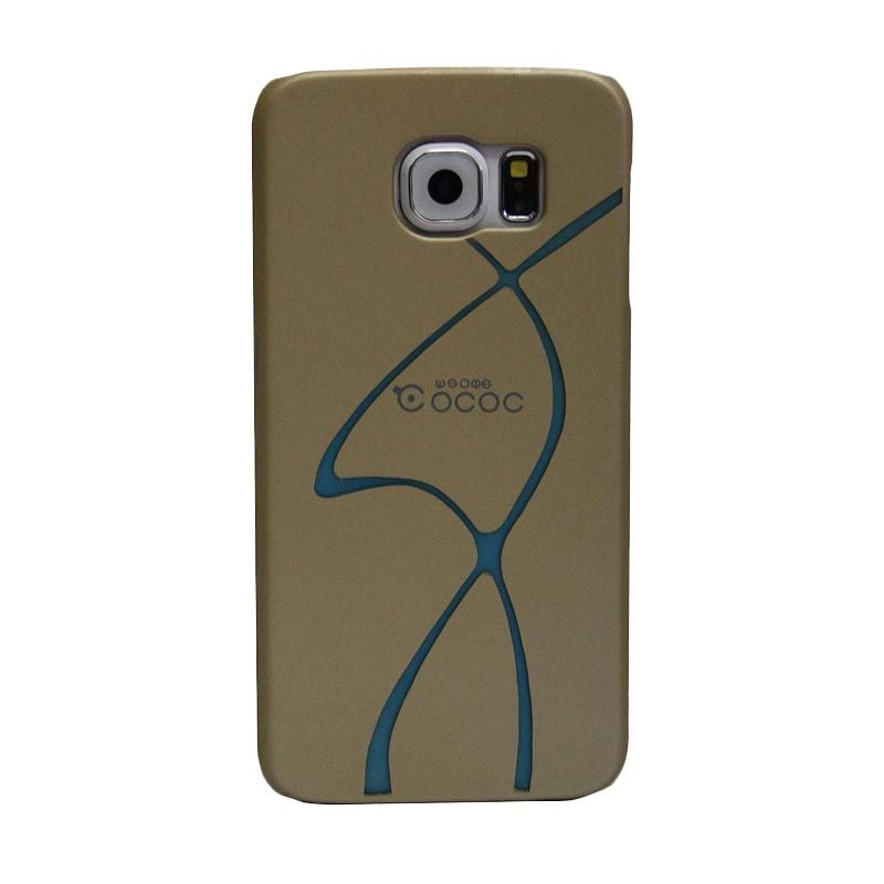 COCOO Design A Gold Casing for Samsung Galaxy S6