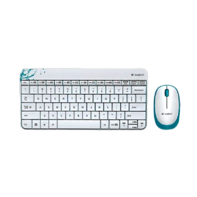 Logitech Combo MK240 Putih Wireless Keyboard and Mouse