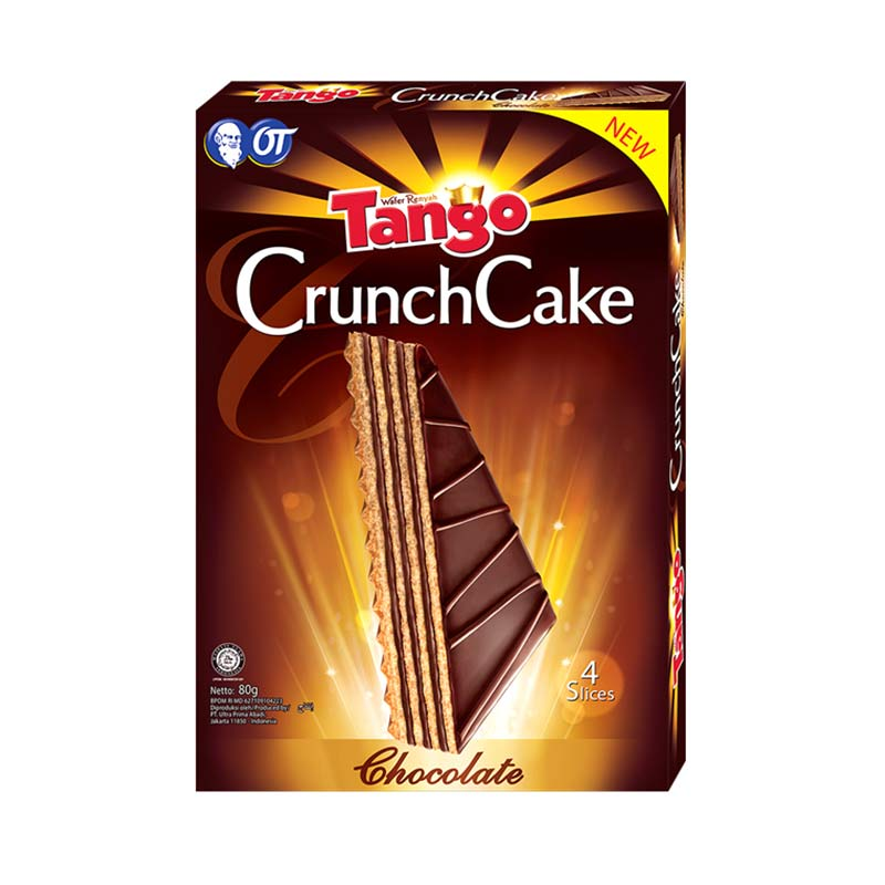Tango Wafer Crunchcake Coklat Biskuit [80 gr]