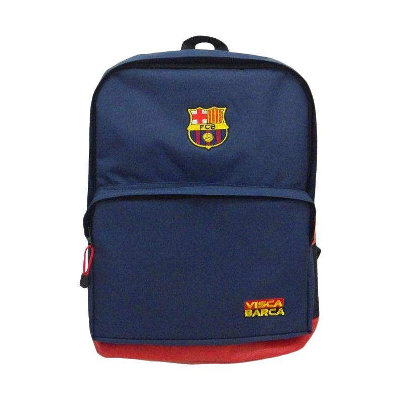 Tas Klub Bola Barcelona Biru Tas Ransel