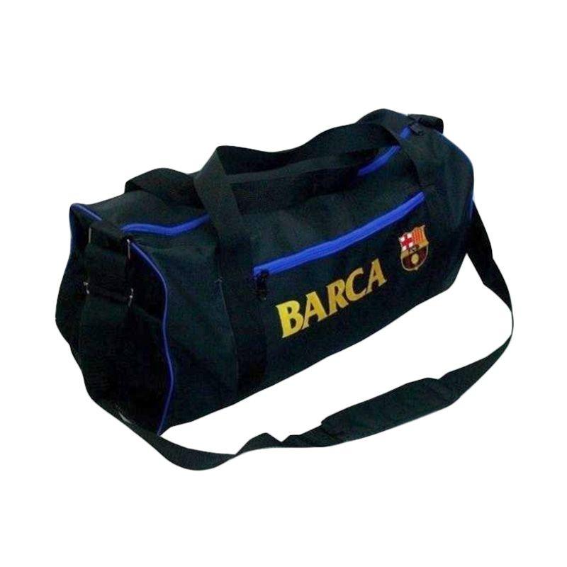 Tas Klub Bola Barcelona Hitam Travel Bag