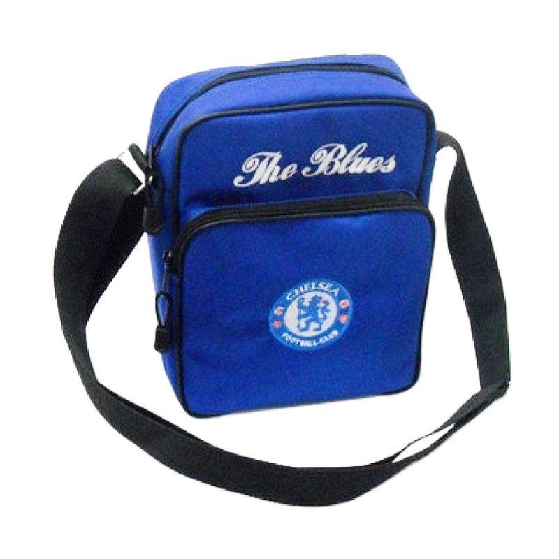 Tas Klub Bola Chelsea Slot Gadget Biru Tas Selempang