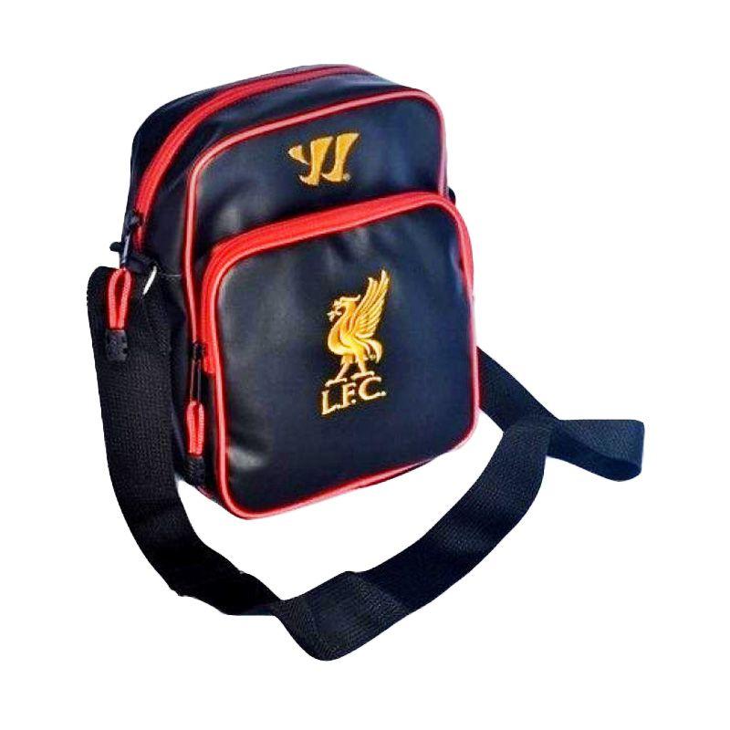 Tas Klub Bola Liverpool Fitur Slot Gadget Hitam Tas Selempang