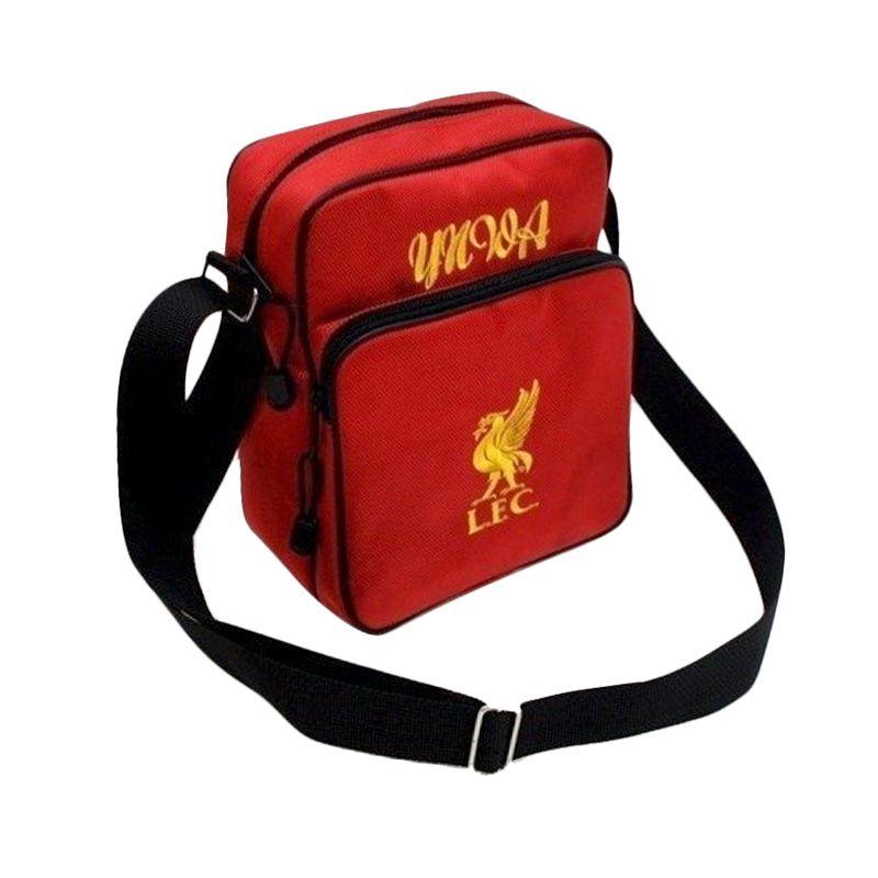 Tas Klub Bola Liverpool Slot Gadget Merah Tas Selempang
