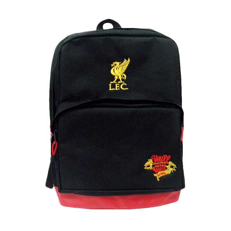 Tas Klub Bola Liverpool Slot Laptop Hitam Tas Ransel
