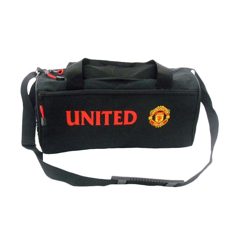 Tas Klub Bola Manchester United Hitam Sport Bag