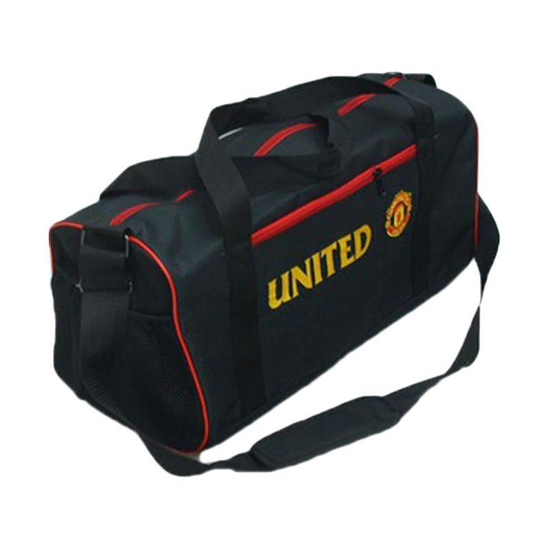 Tas Klub Bola Manchester United Hitam Travel Bag