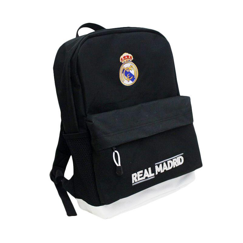 harga Tas Klub Bola Real Madrid Fitur Slot Laptop Biru Tas Ransel Blibli.com