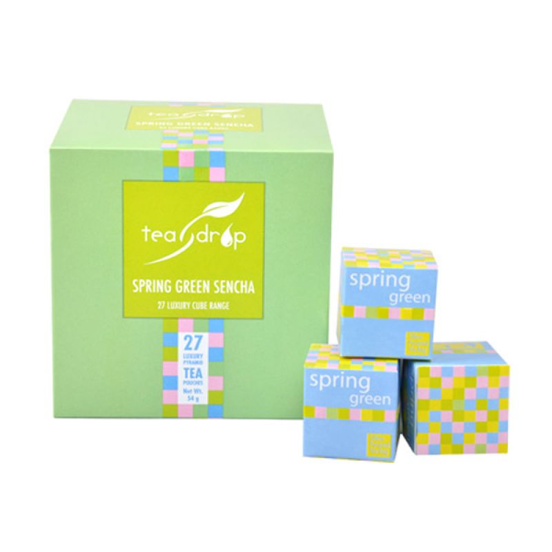 Teadrop 27 cube Spring Green