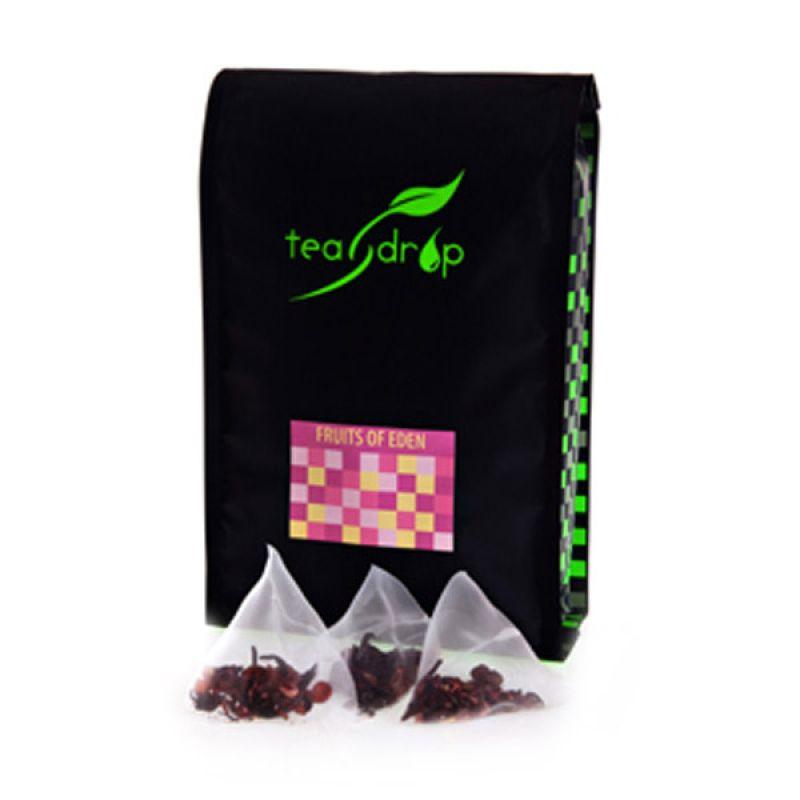 Teadrop pouch Fruits of Eden