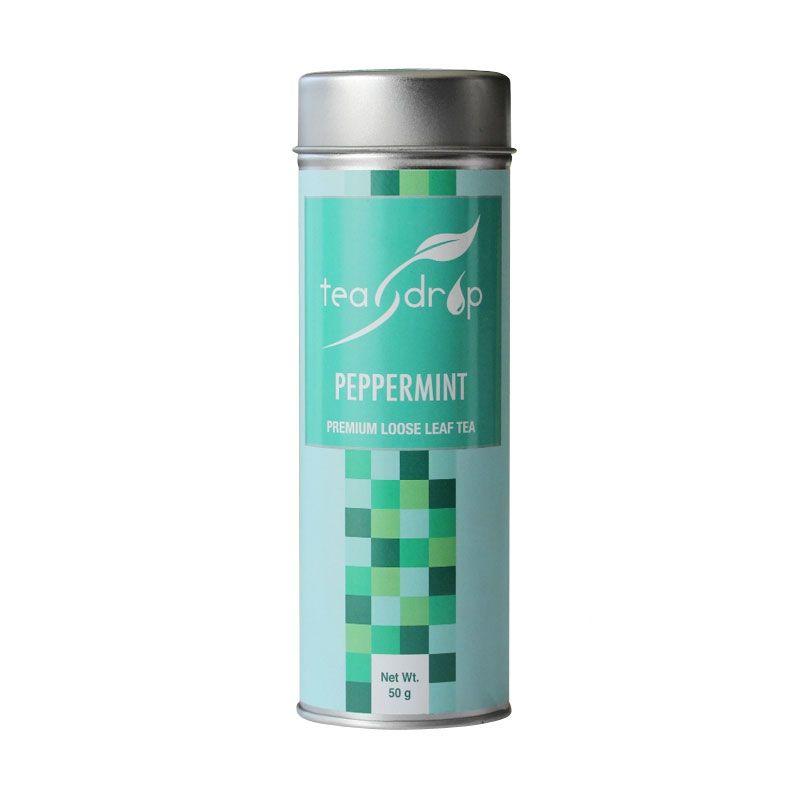Teadrop Tin Peppermint