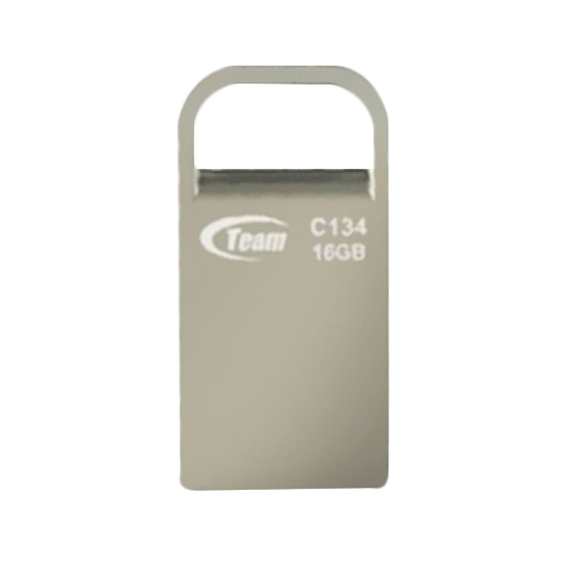 Team C134 Silver Flashdisk [16 GB]