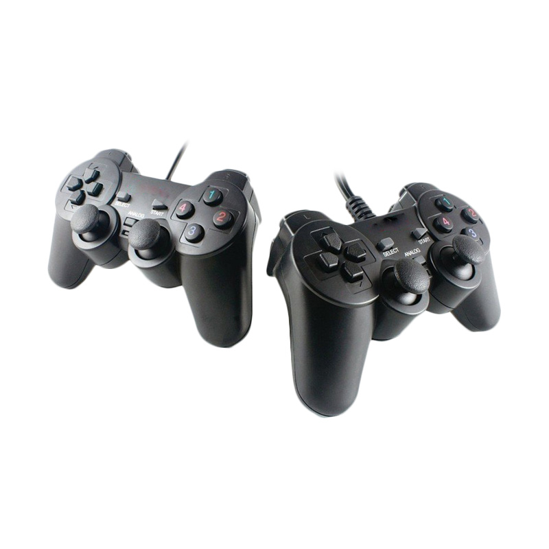 Techno Dual Shock Controller Gaming Pad for PC