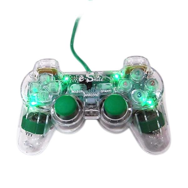 E-Smile Transparant Single Gamepad