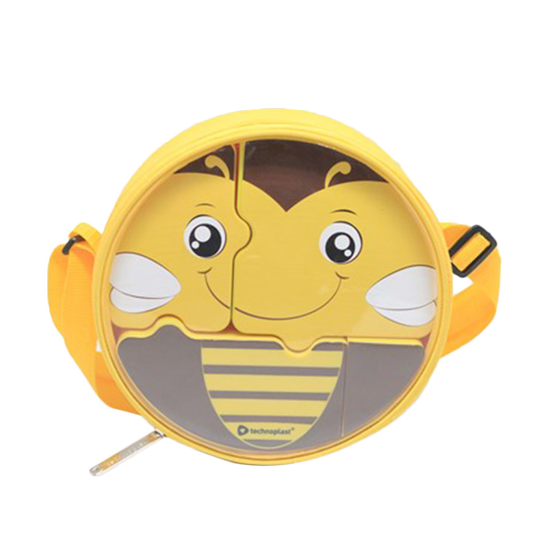 Technoplast Puzzle Lunch Box Set - Bee
