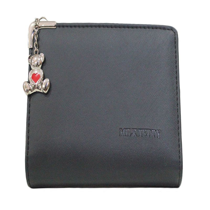 Chatelain Medium Dangle Hitam Dompet Wanita