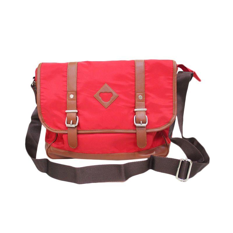 Chatelain Sling Bag Pinky Merah Tas Wanita