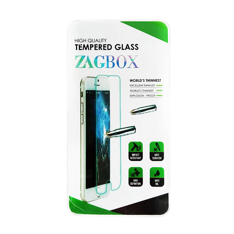 harga Zagbox Tempered Glass Screen Protector for Meizu M2 Note - Clear Blibli.com