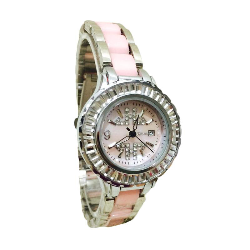 Tetonis T9355M Jam Tangan Wanita - Silver Pink