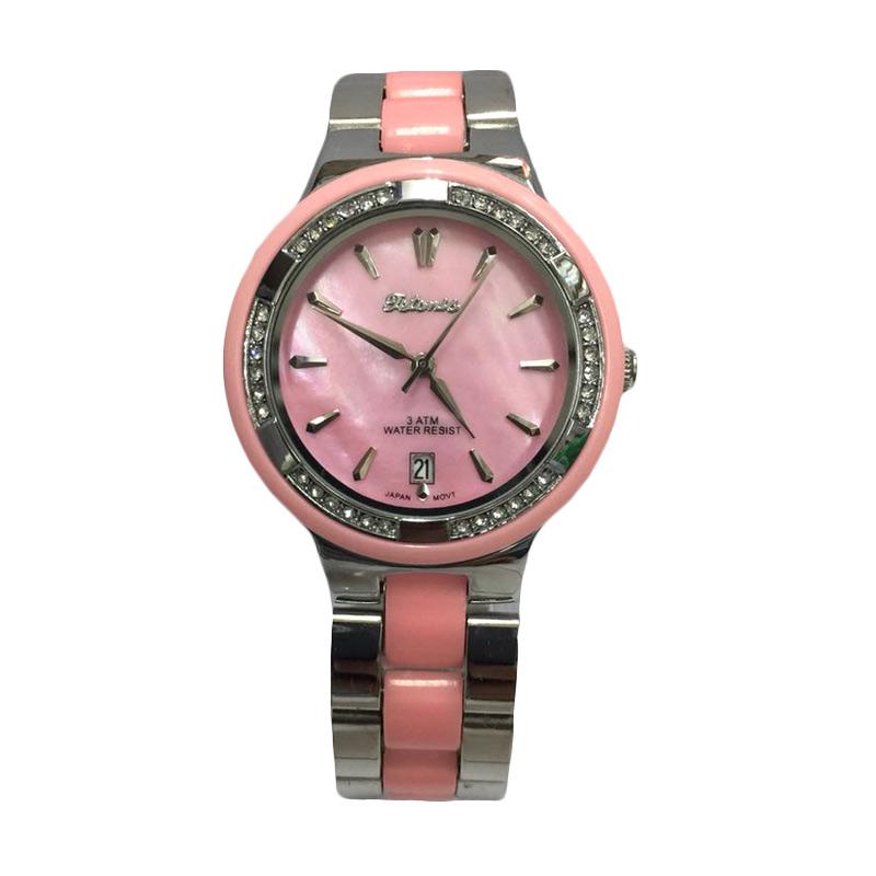 Tetonis T9625M BS Jam Tangan Wanita - Silver Pink