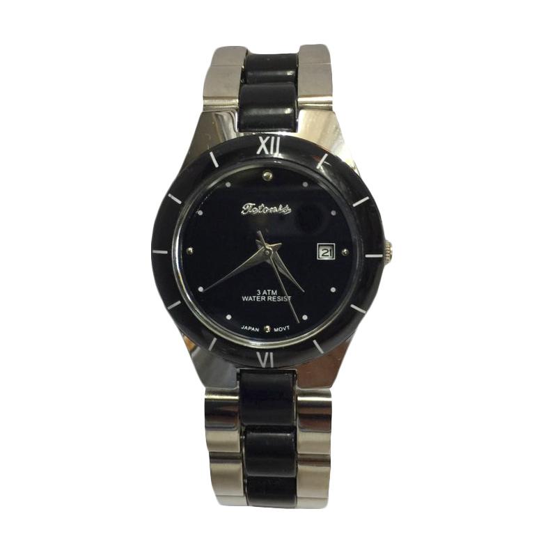 Tetonis T9675M Jam Tangan Fashion Wanita - Silver Black