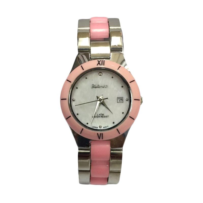 Tetonis T9675M Jam Tangan Fashion Wanita - Silver Pink