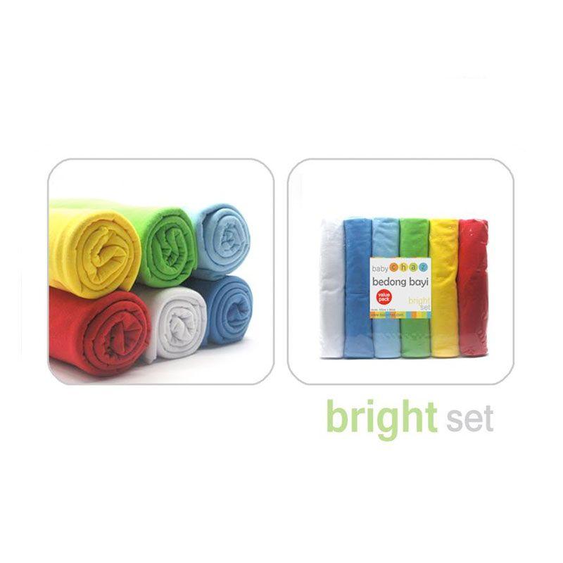 Baby Chaz Bedong Bayi Bright Set 6 Pcs