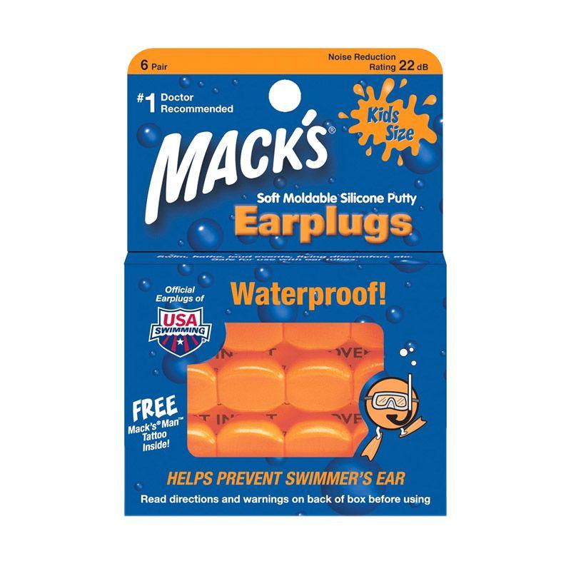 Mack's Earplugs For Kids [6 Pairs]