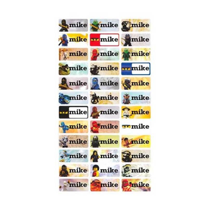 Petite Label Ninjago (M)