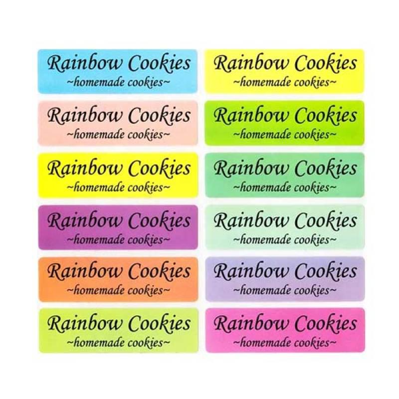 Petite Label Rainbow (L)