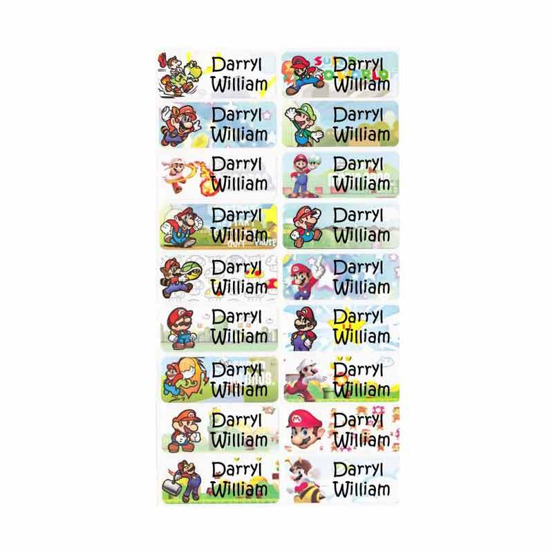 Petite Label Super Mario (L)