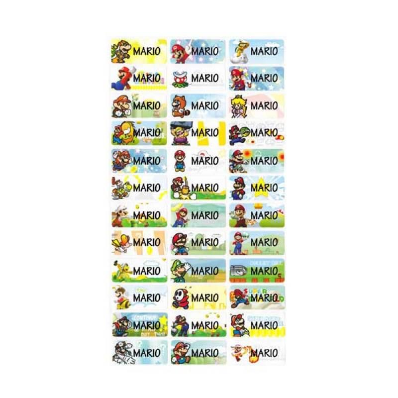 Petite Label Super Mario (M)