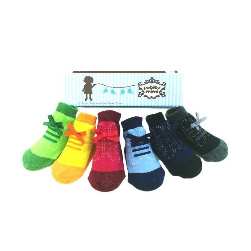 Petite Mimi ShoeSock Boy Funky