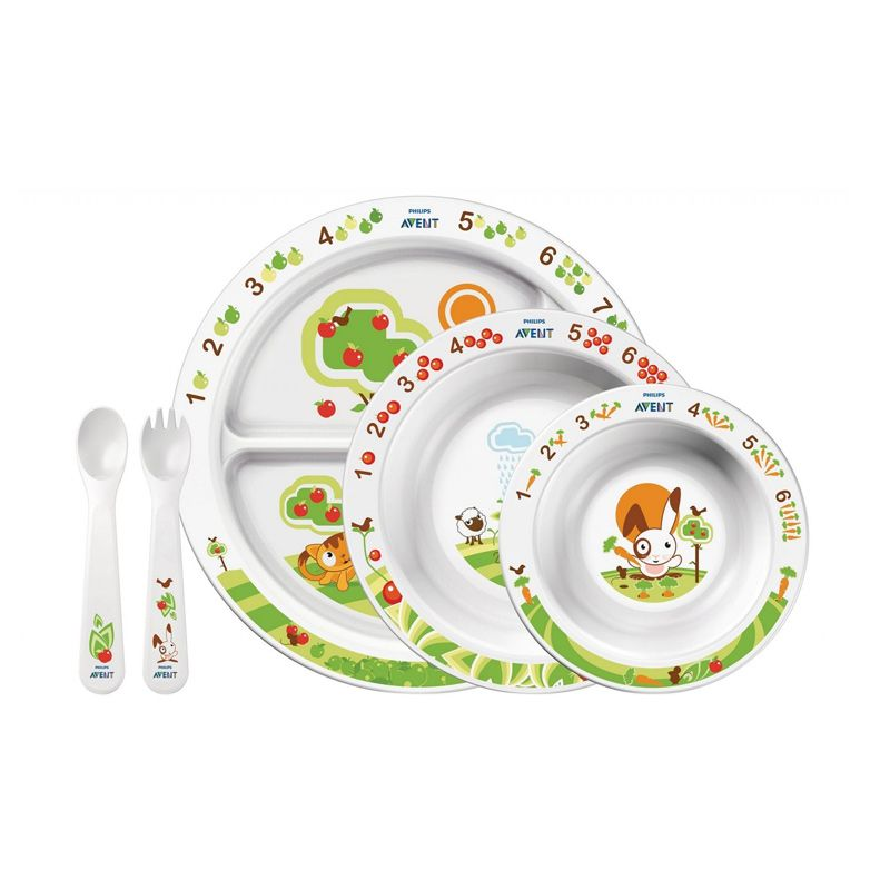 Philips Avent Mealtime Set Alat Makan Bayi
