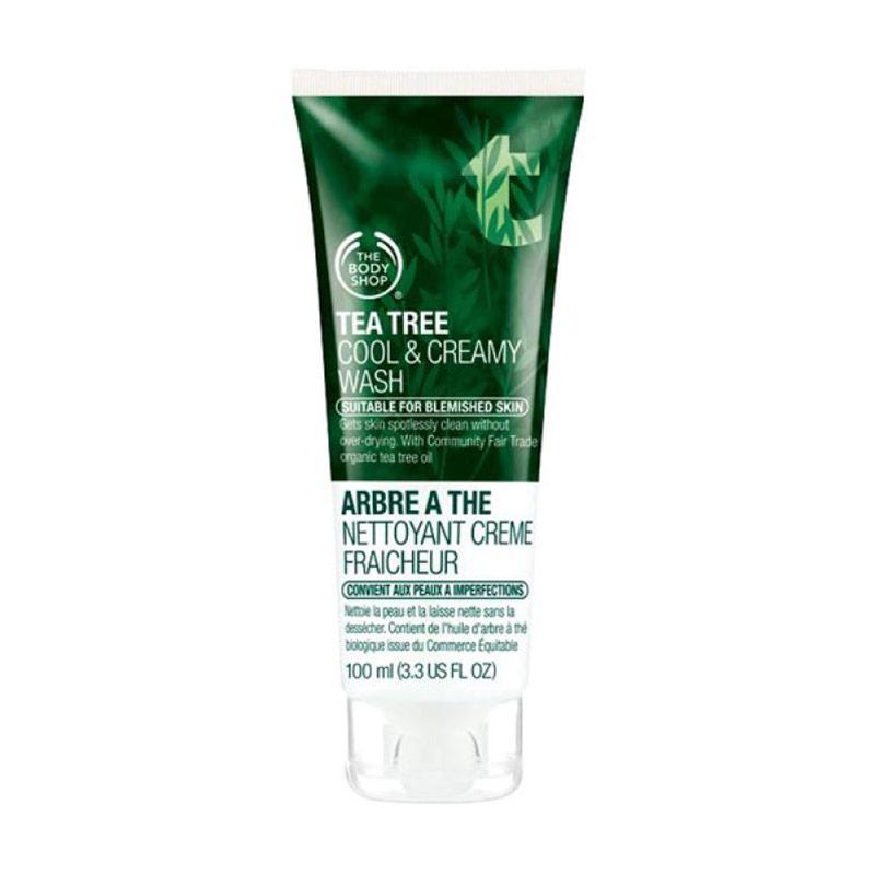 The Body Shop Tea Tree Cool & Creamy Wash [100 ML]
