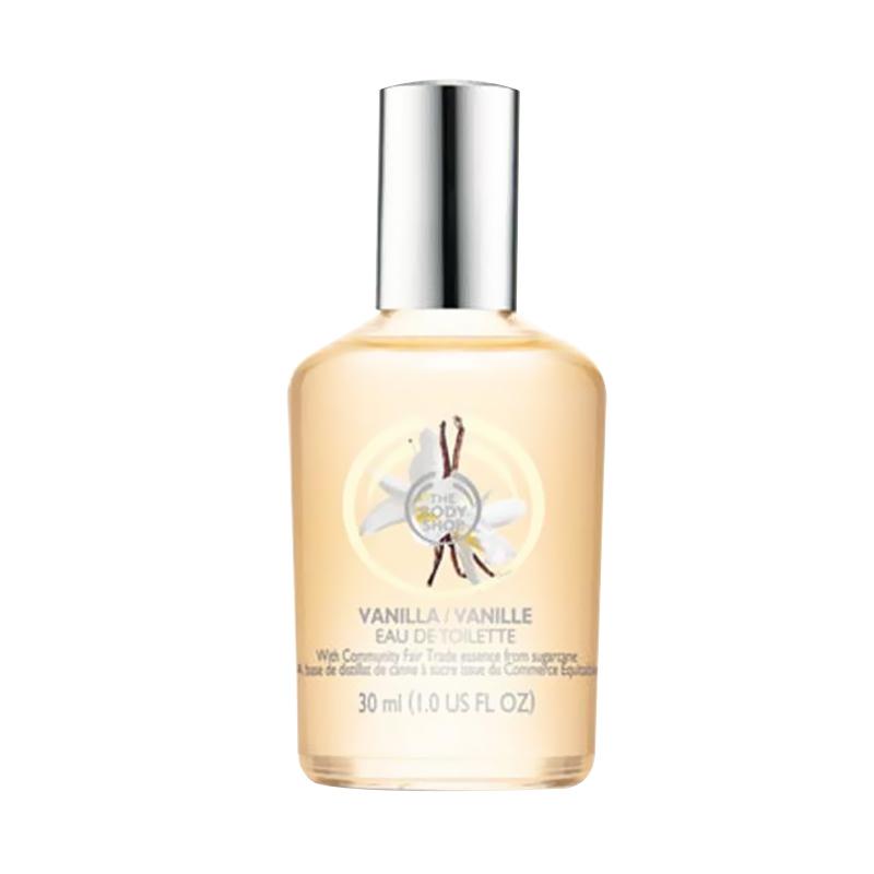 The Body Shop Vanilla EDT Parfum Wanita [30 ML]