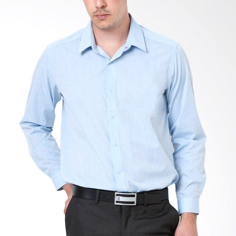 The Executive CRLS-102-R11503 Blue Kemeja Pria