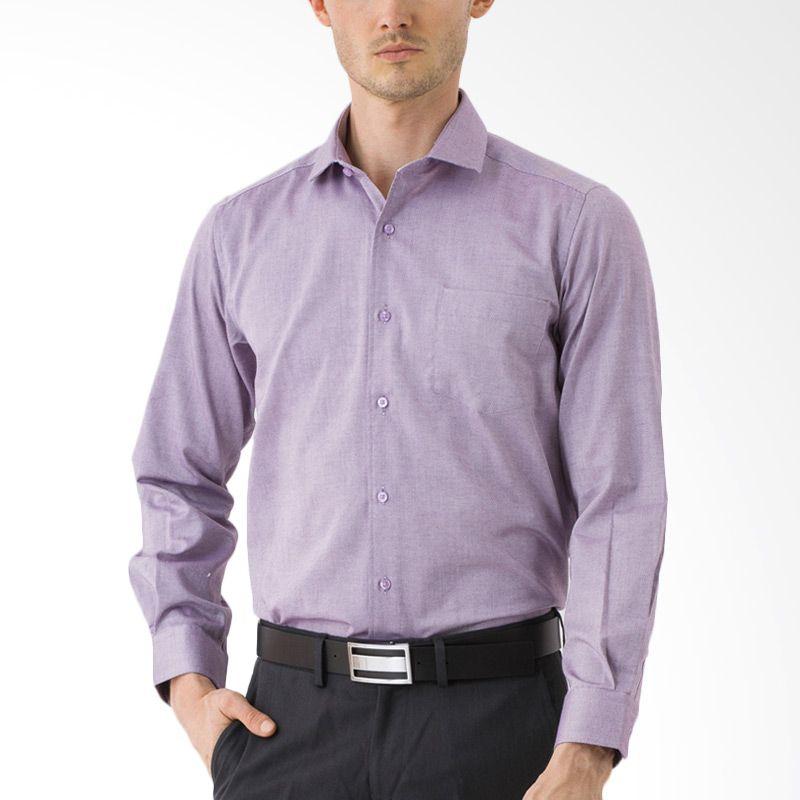 The Executive CRLS-110-R11505 Purple Kemeja Pria