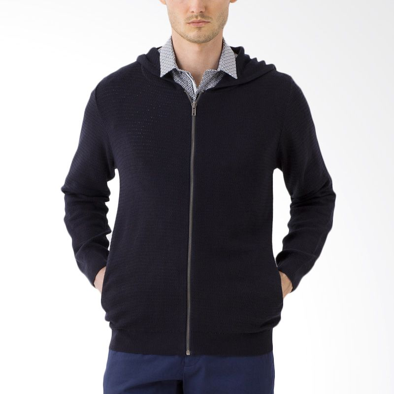 The Executive CTSW-201-L11506 Navy Sweater Pria