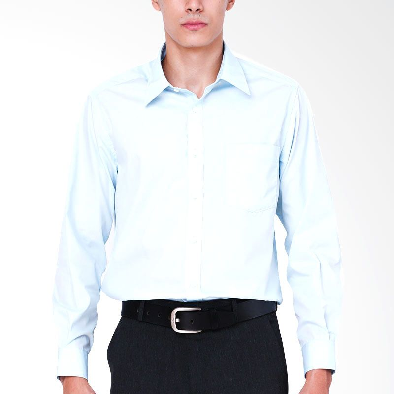 The Executive JERRY RGF LS Shirt Blue
