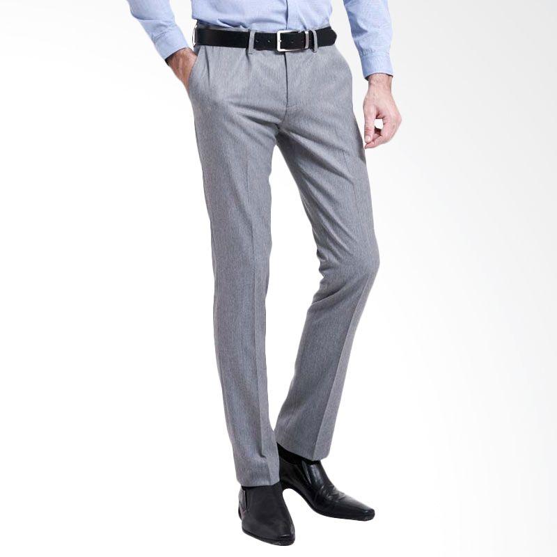 The Executive SENDER SKY CTM Long Pants Light Grey