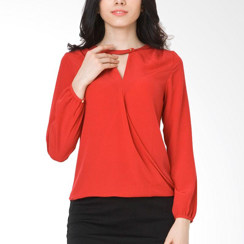 The Executive BLC-213-5114-15 Red Atasan Wanita
