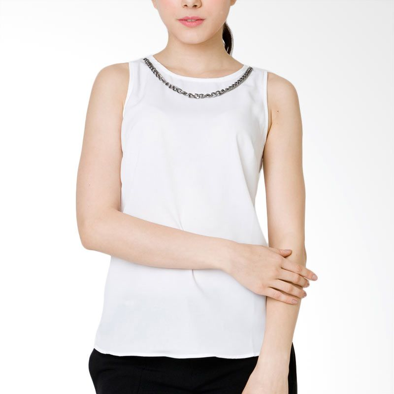 The Executive BTTX-201-511115 White Atasan Wanita