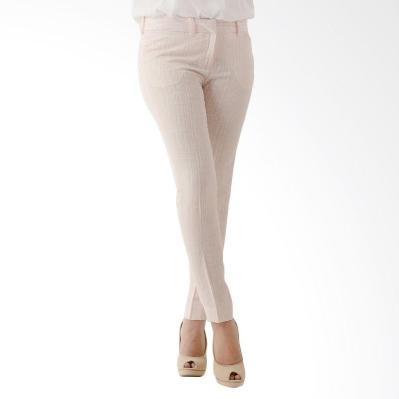 The Executive LPKL-105-511415 Light Pink Celana Panjang Wanita