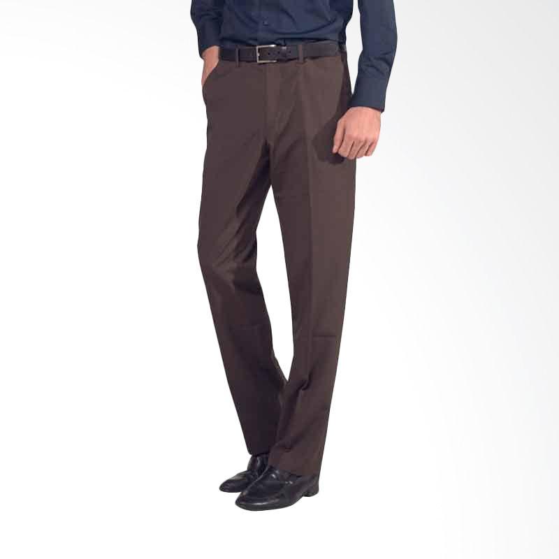 The Executive Sidney Pro Pants Dark Brown