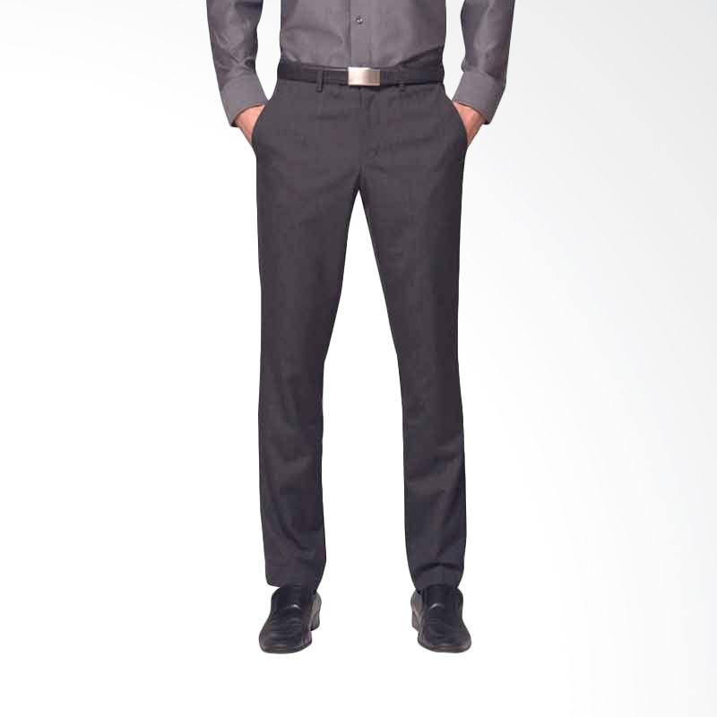 The Executive Sidney Slf Pants Dark Grey