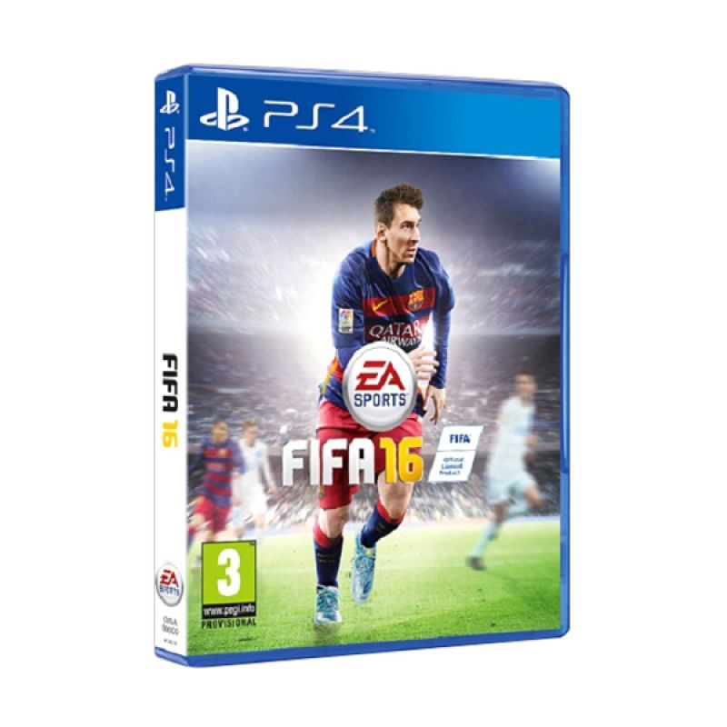 PS4 FIFA 2016 DVD Game