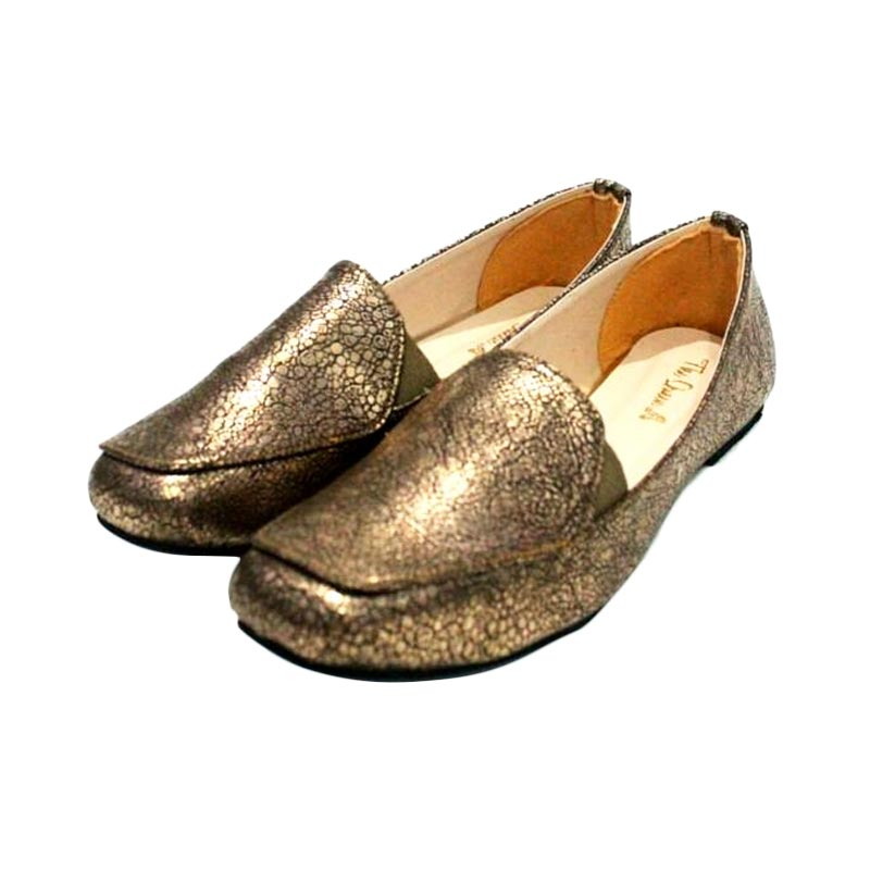 The Queen Lacoste Sepatu Wanita - Bronze